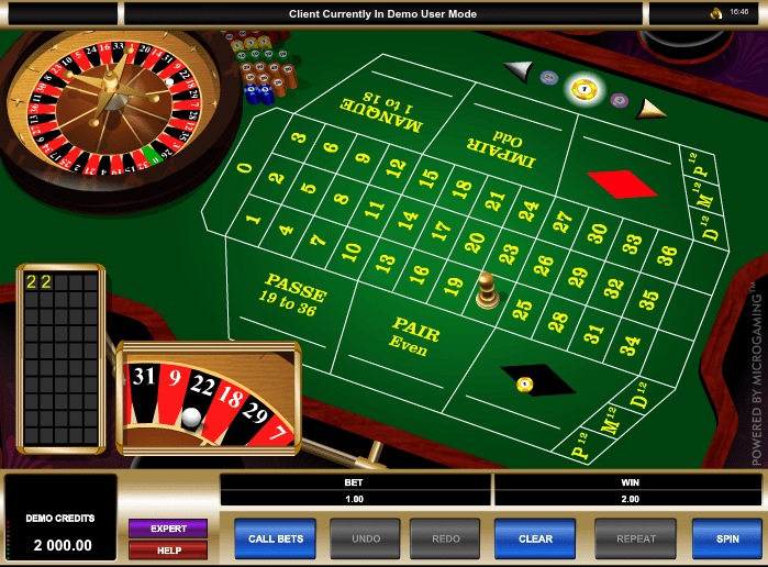 Europeisk roulette microgaming with 204648